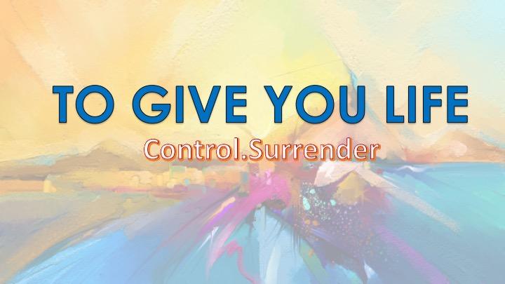 Control & Surrender, Pt.1