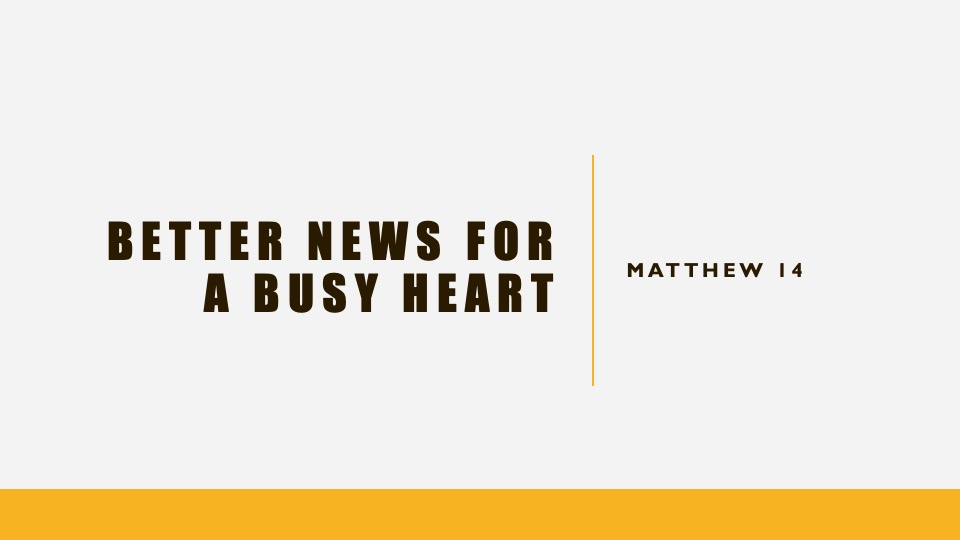 Better News For A Busy Heart